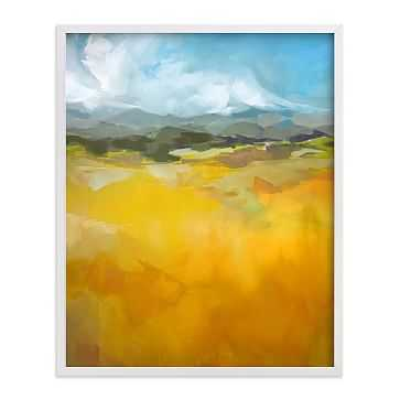 Minted For West Elm Prints:Head for the Hills: 18 x 24 - West Elm