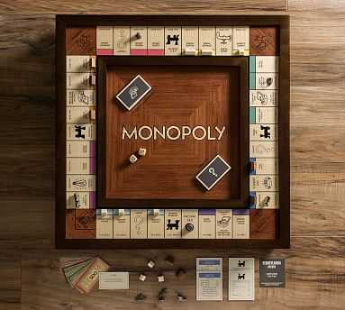 Monopoly Heirloom Edition Game, Wood - Pottery Barn