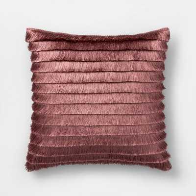 Fringe Square Throw Pillow Blush - Opalhouse - Target