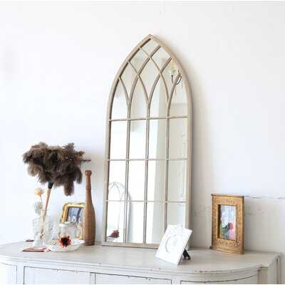 Massaro Distressed Wall Mirror - Wayfair