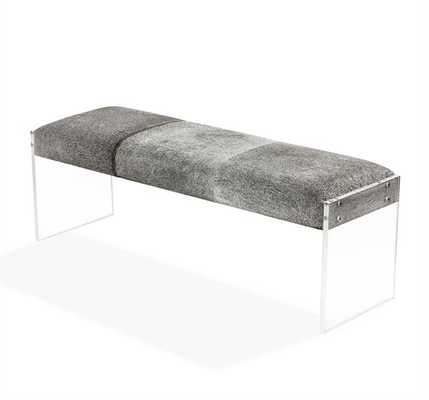 Interlude Aiden Upholstered Bench - Perigold