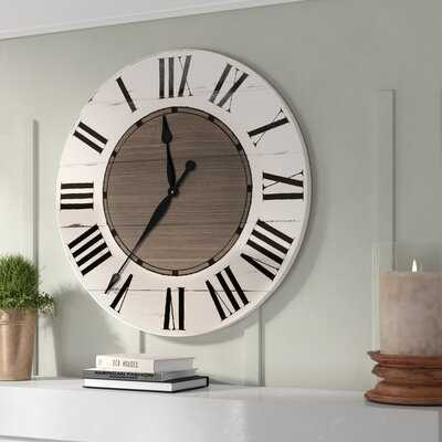 Oversized Froehlich Wall Clock - Wayfair