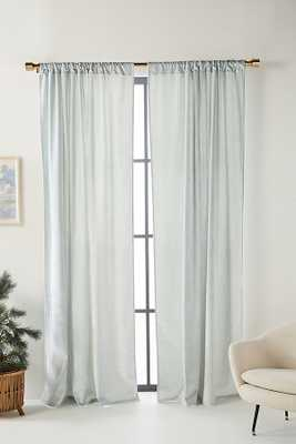 """Raquel Curtain By Anthropologie in Blue Size 50"""" X 96"""" - Anthropologie"""