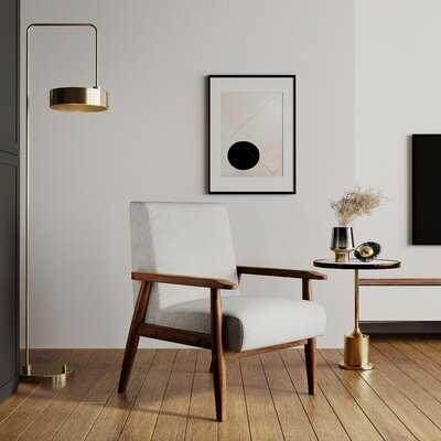 Modern Wood Chair - Wayfair