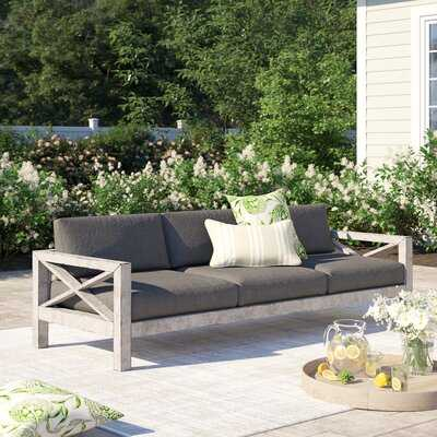 Parkdale Patio Sofa with Sunbrella Cushions - Wayfair