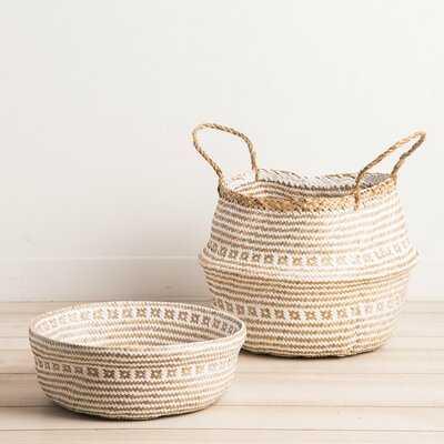 Seagrass Belly Basket - Wayfair