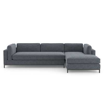 "Four Hands Atelier 120"" Right Hand Facing Modular Sectional - Perigold"