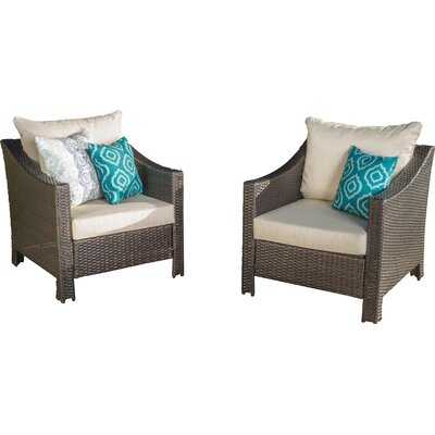 Portola Patio Chair with Cushion - AllModern