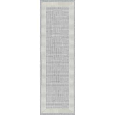 Marlatt Flatweave Gray Rug - Wayfair