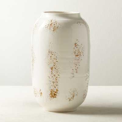 Nuvola White Vase - CB2