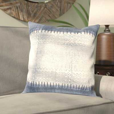 Friedman Cotton Indoor Geometric Square Throw Pillow - With insert. - Wayfair