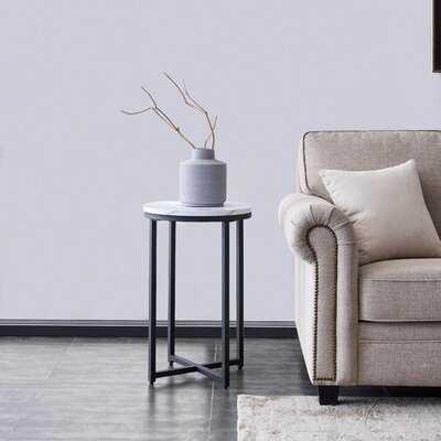 Afia Cross Legs End Table - Wayfair