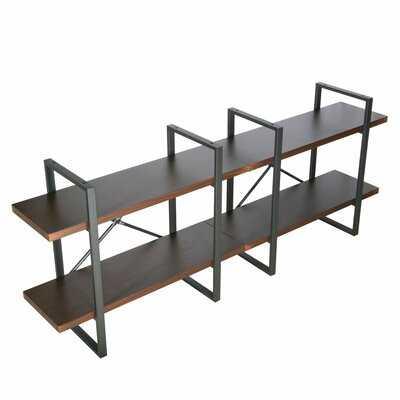 Rush Etagere Bookcase - Wayfair