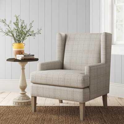Martha Stewart Decker Wingback Chair - Birch Lane