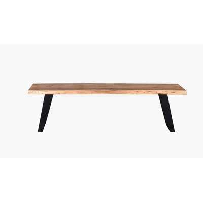 Flanary Wood Bench - Wayfair