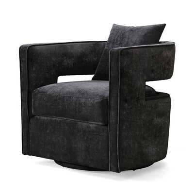 Jeremiah Swivel Barrel Chair - Wayfair
