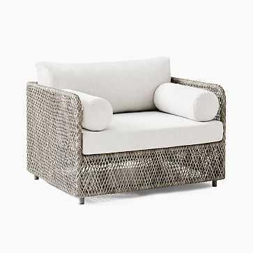 Coastal Lounge Chair, Individual - West Elm