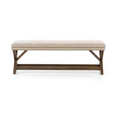 Four Hands Alysa Upholstered Bench - Perigold
