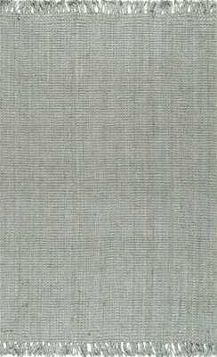 "Krew Rug, 7'6""x 9'6"", Gray - Roam Common"