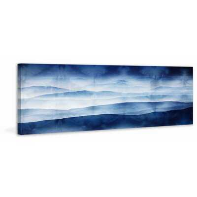 'Blue Mountains' Painting Print on Wrapped Canvas - AllModern