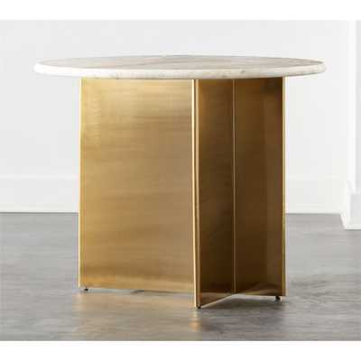 Planes Round Foyer Table - CB2