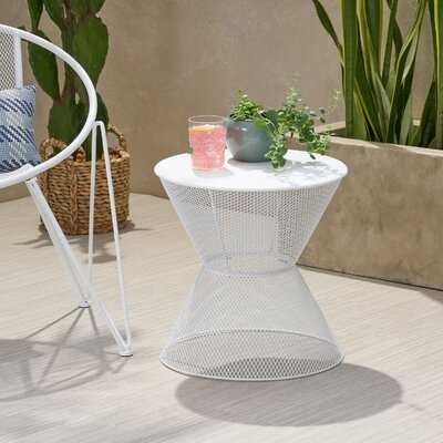 Yoshida Iron Side Table - Wayfair