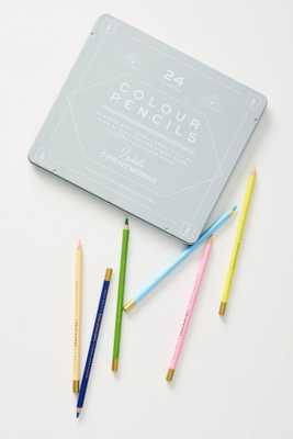 Printworks Colored Pencils, Set of 24 - Anthropologie