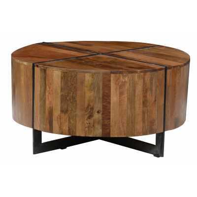Raymond Cross Legs Coffee Table - Perigold