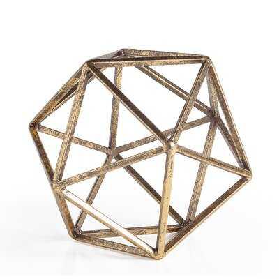 Alariz Polygon Decor Sculpture - Wayfair