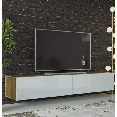 "Cargile Floating TV Stand for TVs up to 78"" - Wayfair"