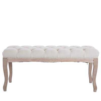 Treutlen Upholstered Bench - Wayfair