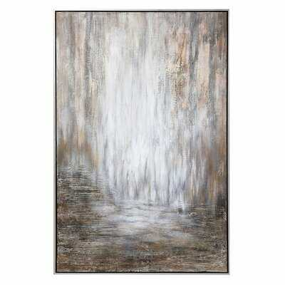 Desert Rain by Matthew Williams - Floater Frame Painting Wood - Wayfair