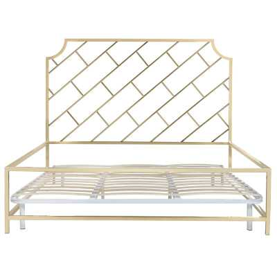 Safavieh Couture Susana King Bed Frame - Perigold