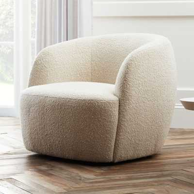 Gwyneth Boucle Chair - ships mid-Apirl 2021 - CB2