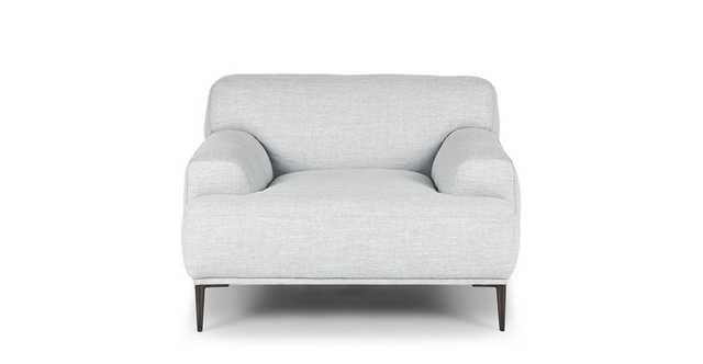 Abisko Mist Gray Lounge Chair - Article
