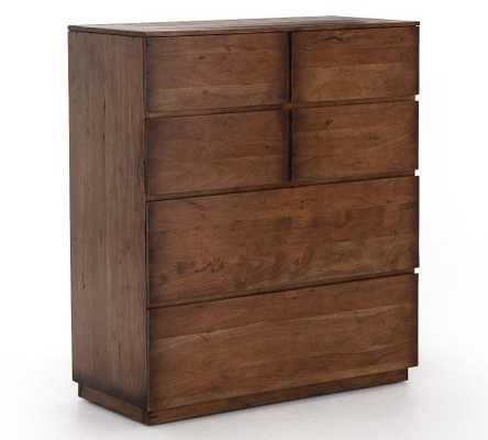 Parkview Reclaimed Wood 6-Drawer Tall Dresser - Pottery Barn