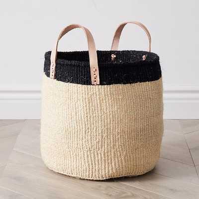Leather Handle Utility Baskets - West Elm