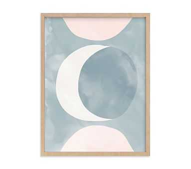 Minted(R) Spring Moon Wall Art by Iveta Angelova; 18x24, Natural - Pottery Barn Kids