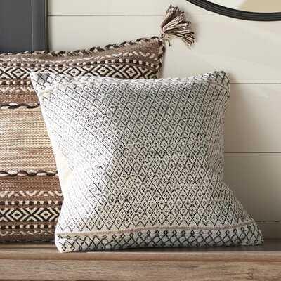 Elita Square Pillow Cover & Insert - Wayfair
