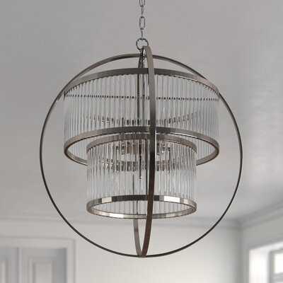 Carine 8 - Light Unique / Statement Globe Chandelier - Wayfair