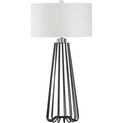 Safavieh Estill 34 in. Black Table Lamp - Home Depot
