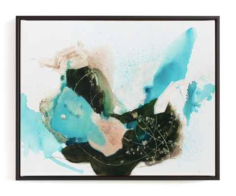 Flora In Motion Art Print - Minted