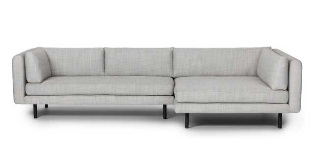 Lappi Serene Gray Right Sectional Sofa - Article