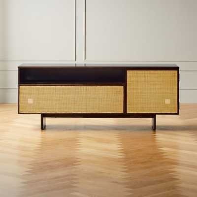 Halsted Cane Media Console - CB2