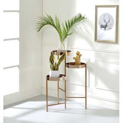 Little Neck Round Multi-tiered Plant Stand - Wayfair