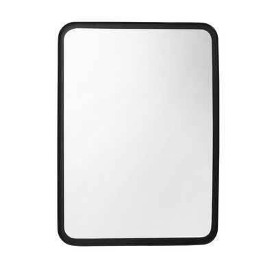 "28"" Rectangular Mirror, Black - Wayfair"