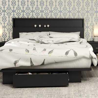 Primo Storage Platform Bed - Wayfair