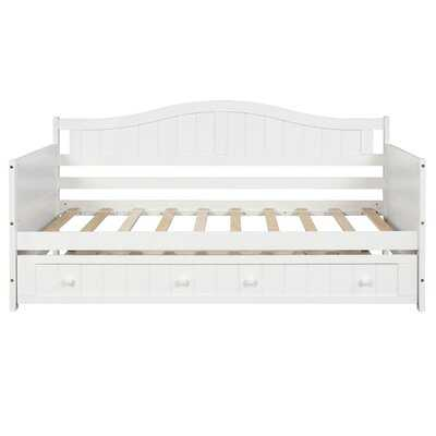 Quinlynn Twin Daybed with Trundle - Wayfair