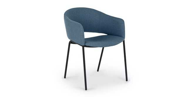 Coswig Blue Demure Dining Chair - Article