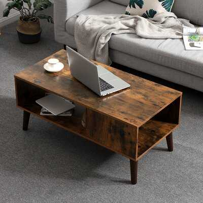 Gascon Coffee Table with Storage - Wayfair